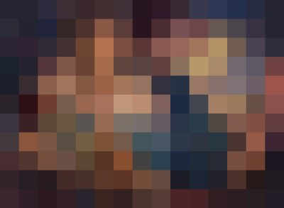 pixelated something